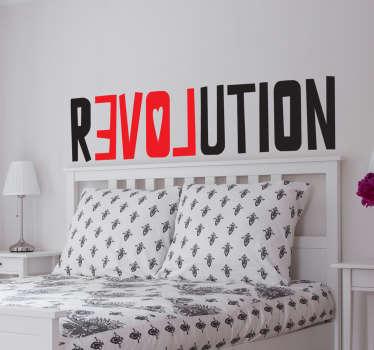 Adesivo love revolution