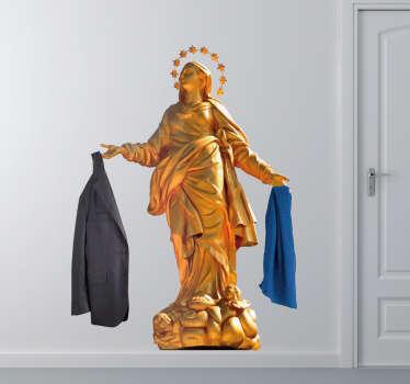 Appendiabiti adesivo Madonnina