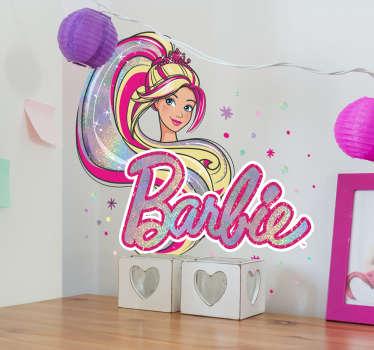 Adesivo infantil Barbie