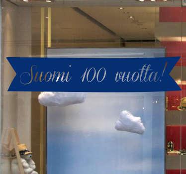 Sisustustarra Suomi 100 vuotta