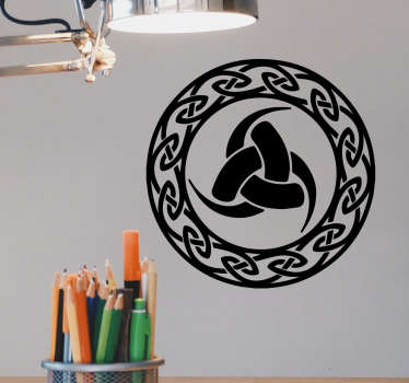 Sticker hoorn van Odin