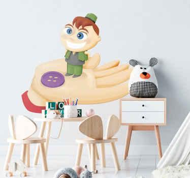 Hop-o'-My-Thumb Sticker