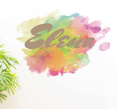 Nimitarra akvarelli