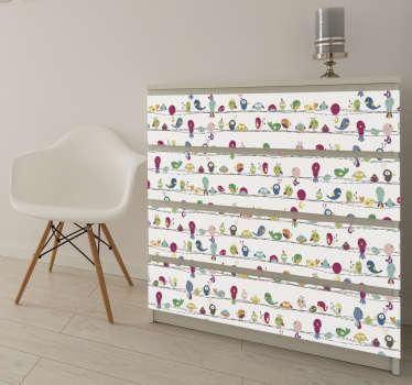 Sticker meuble animaux