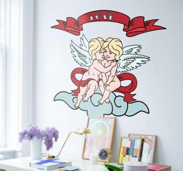 Vinil adesivo Anjos de Amor