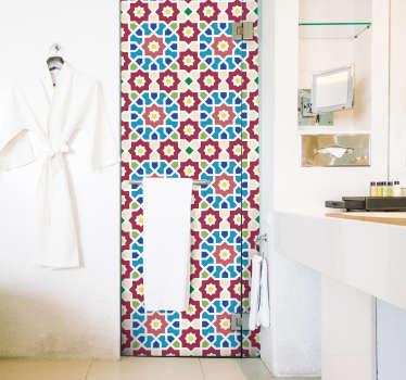 Azulejo hidráulico pared árabe
