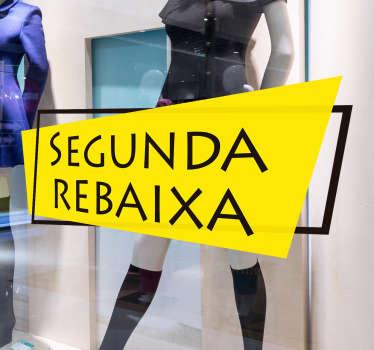 Vinil Montras Segunda Rebaixa promoções