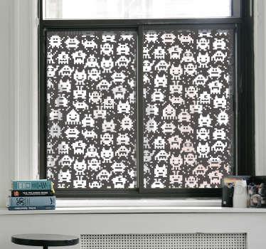 Sticker pour fenêtre monstres