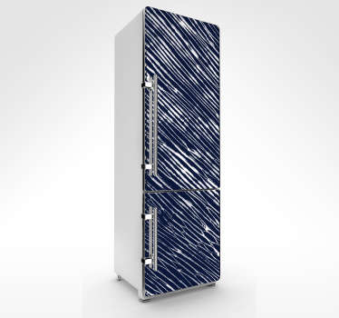 Shibori texture refrigerators to decorate the surface of fridge and freezer door space. It is available in any dimension required.