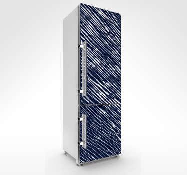 Kühlschrankaufkleber Shibori