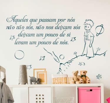 Vinil decoratico frase principezinho