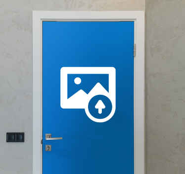 Personalized door sticker with the photo of your choice that will transform your interiors into amazing places! High quality material!