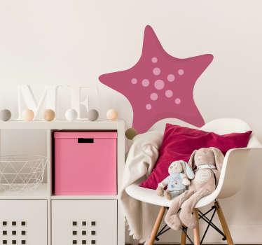 Kids Starfish Wall Sticker