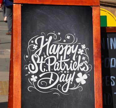 Vinilos para bares StPatrick's Day