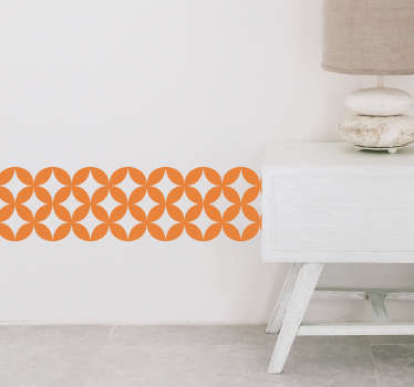 Decorative geometric tile wall sticker to decorate any space of choice in the home. It is easy to apply and we have it in any required size.