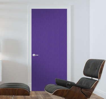 Naklejka na drzwi Ultra Violet