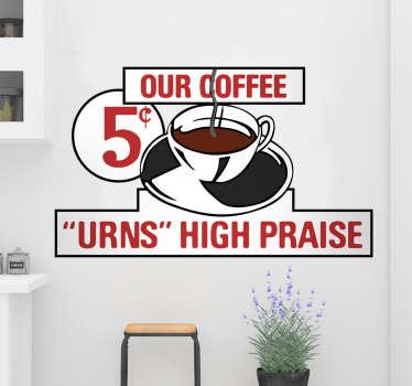 Vinilo cafetería Regreso al Futuro