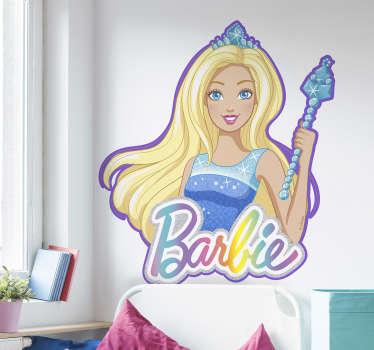 Pegatina Barbie princesa dreamer