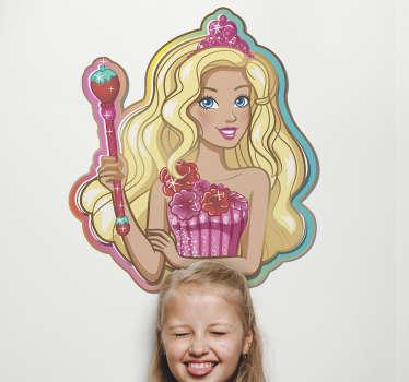 Pegatinas princesa Barbie Dreamtopia