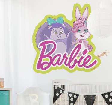 Vinilo Barbie Locksley y Hazel