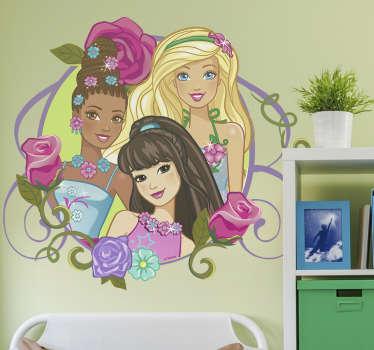 Adesivo Barbie no mundo Dreamtopia