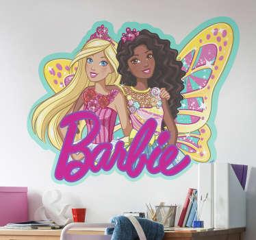 Vinil autocolante da Barbie com a fada