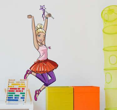 Vinilo decoración Barbie bailarina