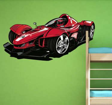 Vinilo coche Hot Wheels F1