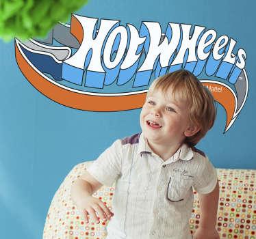 Vinilo decorativo logotipo Hotwheels