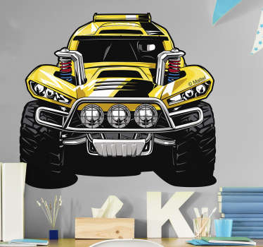 Vinilo Hot Wheels monster truck