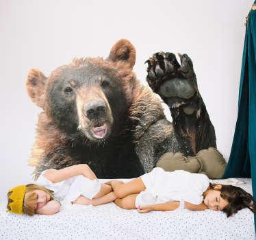Autocolantes para casa urso