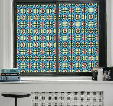 Mosaico adesivo traslucido