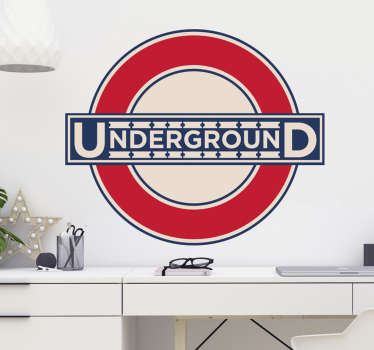 London Underground Wall Sticker