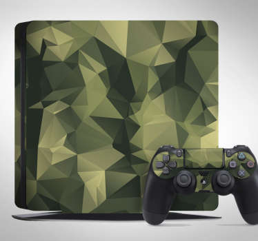 PS4 stickers camouflage