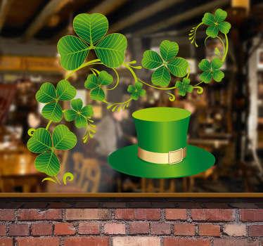 Naklejka irlandzkie inspiracje