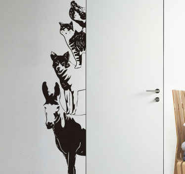 Musicians of Bremen Wall Sticker