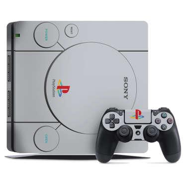 PS1 Retro PS4 Console Sticker