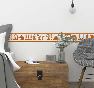 Decorate your home with this brilliant Egyptian style bedroom sticker! +10,000 satisfied customers. Choose your size and colour.
