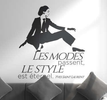 Sticker Yves Saint Laurent modes