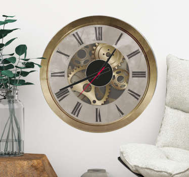 Vinilo reloj orsay