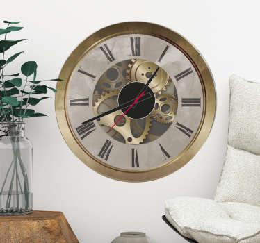 Vinil autocolante relógio Orsay