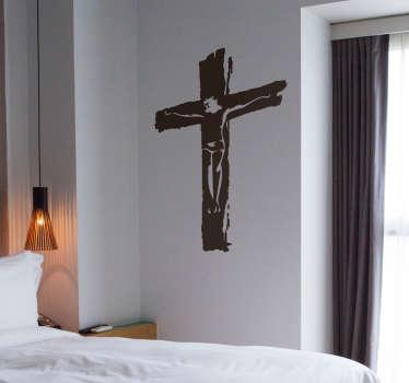 Naklejka na ścianę z motywem Jezusa