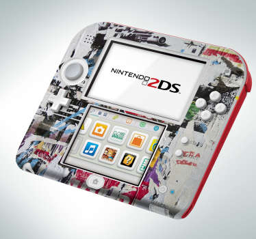 Nintendo sticker gepersonaliseerd
