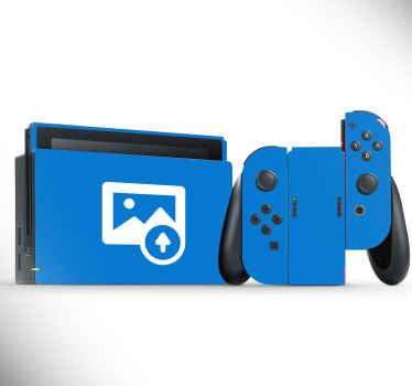 Naklejka na Nintendo z Twoim zdjęciem