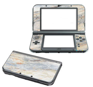 Sticker Nintendo 3DS XL Marbre