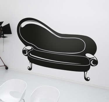 Naklejka dekoracyjna sofa