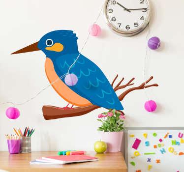 Kingfisher Wall Sticker