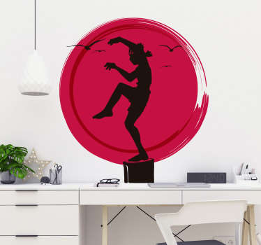 Karate Kid Logo Wall Sticker