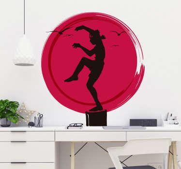 Karate Kid Logo Wall Sticker