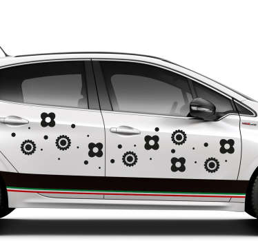 Decorate your car in this classy manner, thanks to our vehicle vinyl decals! Available in 50 colours.